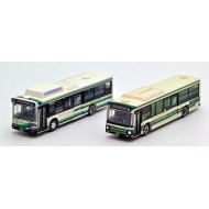 Tomytec The Bus Collection Tokyo Bay City Traffic Bus Set (New and Old color) (東京灣城市交通新舊2色)