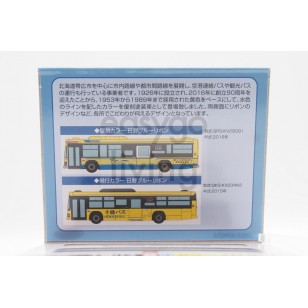 Tomytec The Bus Collection Tokachi Bus Old and New Color Set