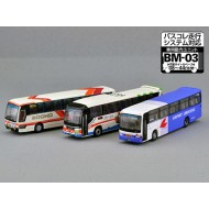Tomytec The Bus Collection Hiroshima Bus Center Set B