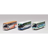 Tomytec The Bus Collection Kobe Sannomiya Bus Terminal Set I (3-Car Set)