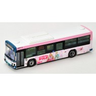 Tomytec 京成巴士Keisei Bus Rika's Favorite Town Katsushika Wrapping Bus (Pink Edition)